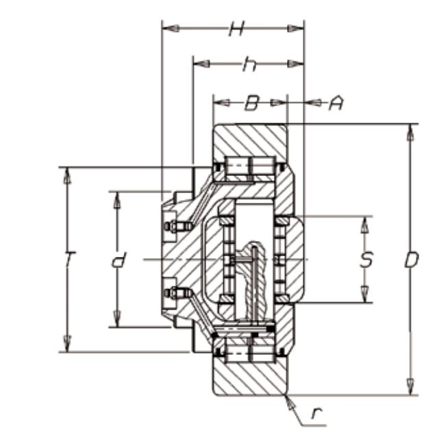 FARO 4.0084 Adjustable Combined Bearing (Large)