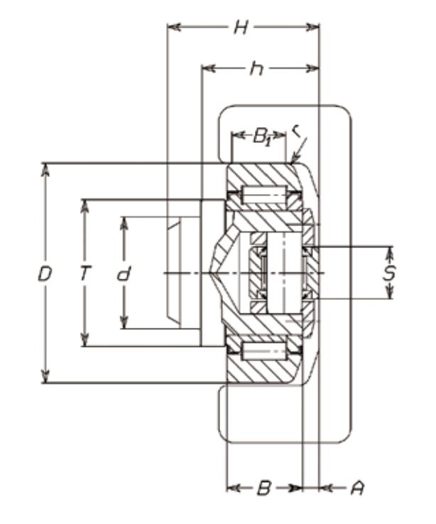 FARO 4.080 Adjustable Combined Bearing