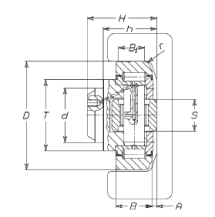 FARO 4.0235 Combined Bearing for High Speeds