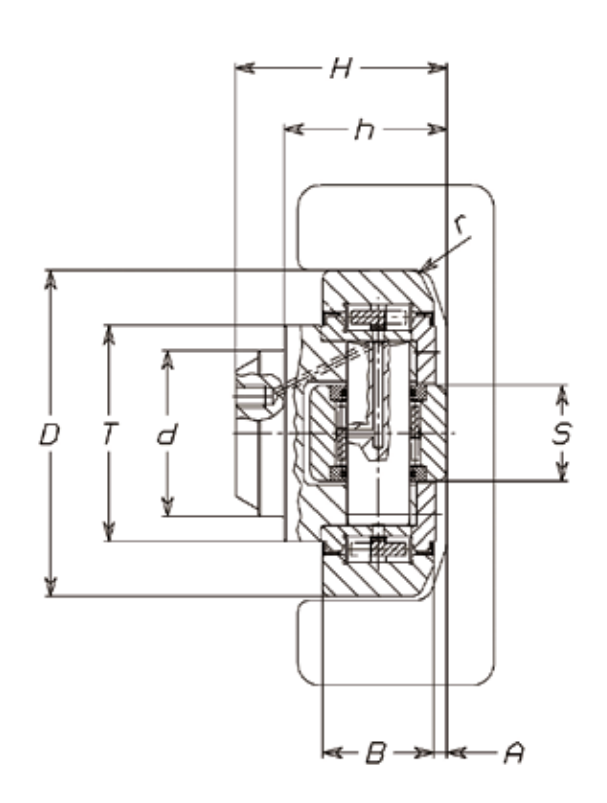 FARO 4.0230 Combined Bearing for High Speeds