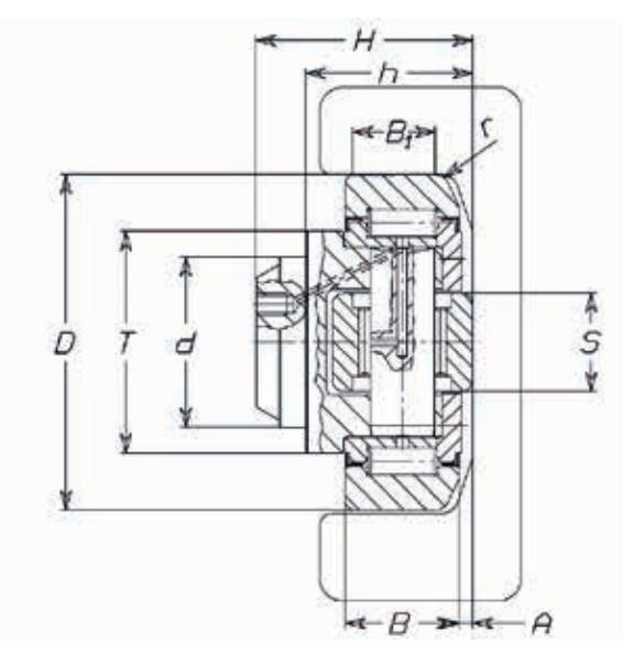 FARO 4.039 Combined Bearing