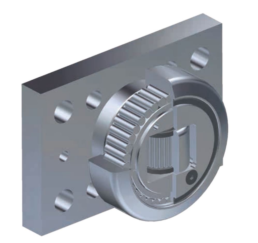Bearing with Plate